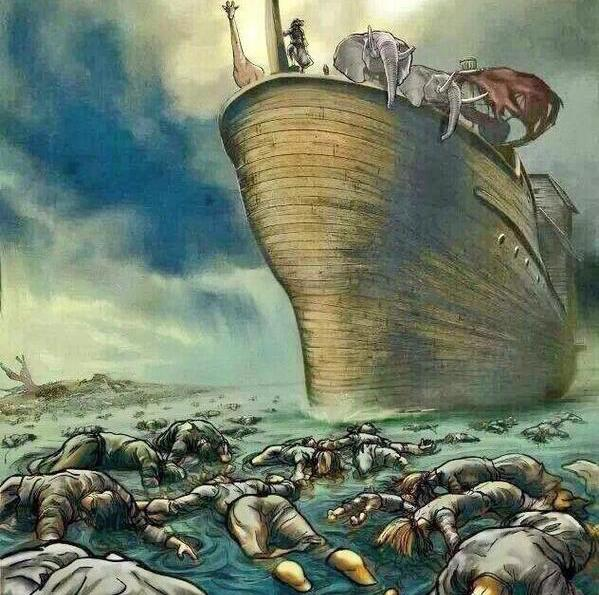 Dead people and Noah's Ark